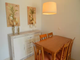 dining area son floriana apartments