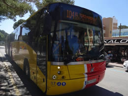 bus in magaluf