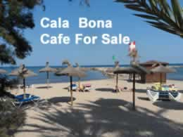 cala bona cafe for sale