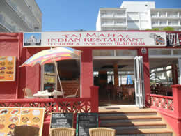 indian restaurant in can picafort