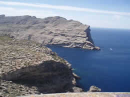 The cliffs of pollensa/formentor