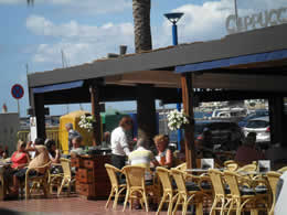 Puerto de Andratx Guide to Restaurants, Cafes and Bars, Cappucino Cafeteria, coffee, sandwiches