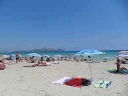 Guide to C'an Picafort - Playa De Muro - Tourist and Travel Information, Hotels, C'an Picafort Beach
