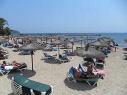 Cala Bona Beach in Summer