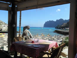 restaurant cala barques in cala san vicente