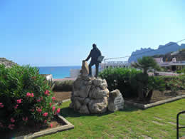 Guide to Cala San Vicente - Tourist and Travel Information, Hotels, Pintor Llorenc Cerda Bisbal