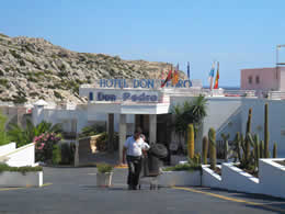 Guide to Cala San Vicente - Tourist and Travel Information, Hotels, Don Pedro Hotel