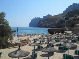 Guide to Cala San Vicente - Tourist and Travel Information, Hotels, Cala Molins Beach