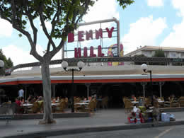 benny hill bar magaluf