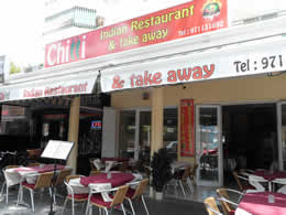 chilli indian restaurant magaluf