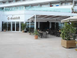 diablito bar restaurant magaluf