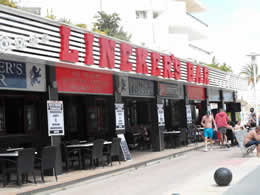 linekers bar magaluf