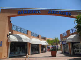 marina arcade shopping centre