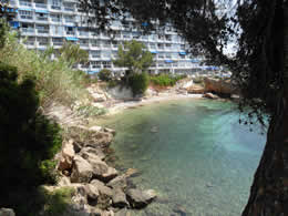 Santa ponsa tourist and travel information for Apart hotel jardin del mar la serena