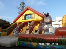 fantasy park cala bona bouncy castle