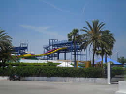 alcudia hidropark big slide