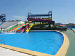alcudia hidropark waterpark slide