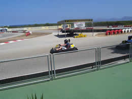 karting in c'an picafort