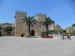 Mallorca (Majorca) Towns and Villages, Alcudia Castle