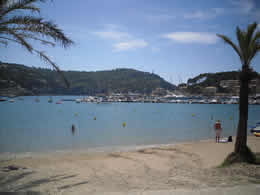 Soller bay and beach